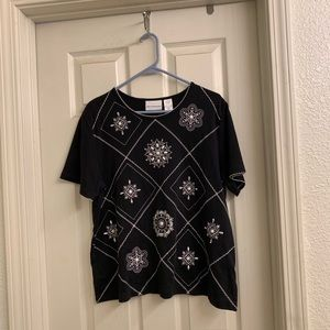 🥳2 for $20🤩Alfred Dunner Short Sleeve Top